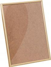 Рамка Нельсон №2 цвет матовый золото 10х15см